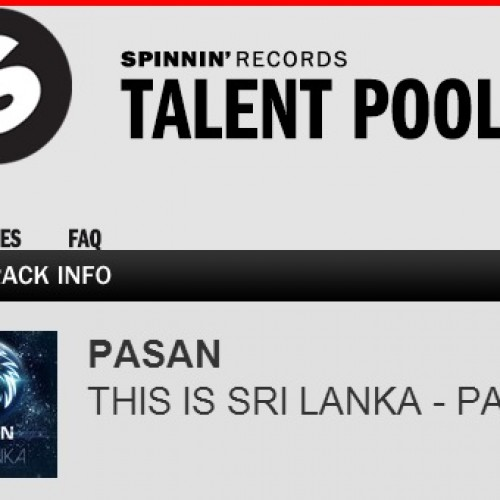 """Pasan Liyanage's """"This Is Sri Lanka"""" On Spinnin Records Talent Pool"""