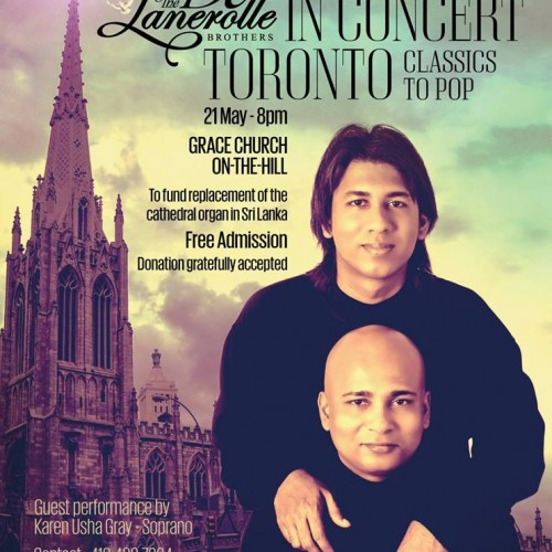 The De Lanerolle Brothers: In Concert (Toronto)
