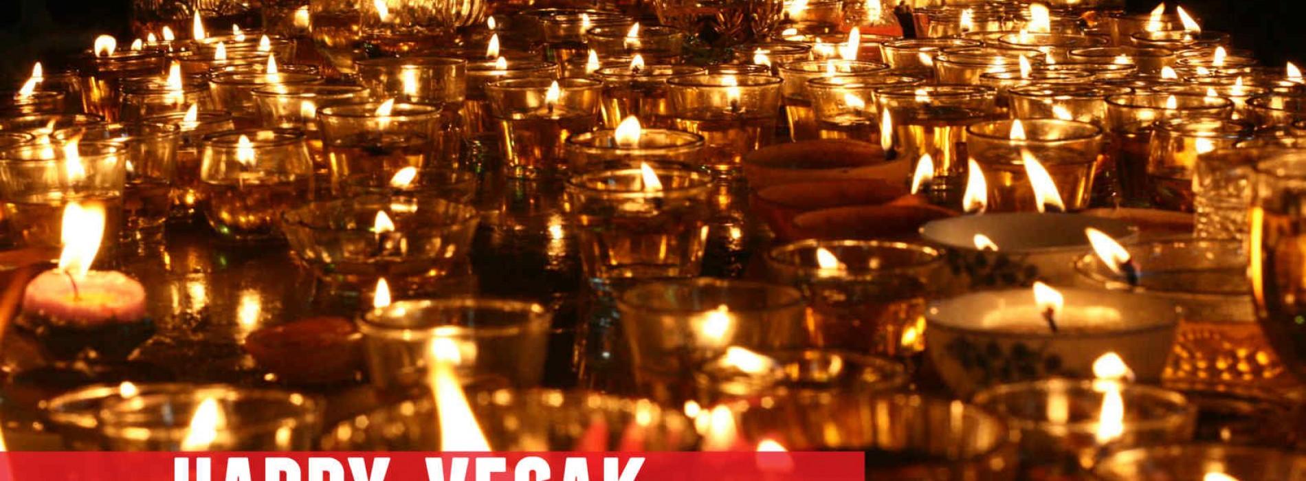Happy Vesak From Us To You
