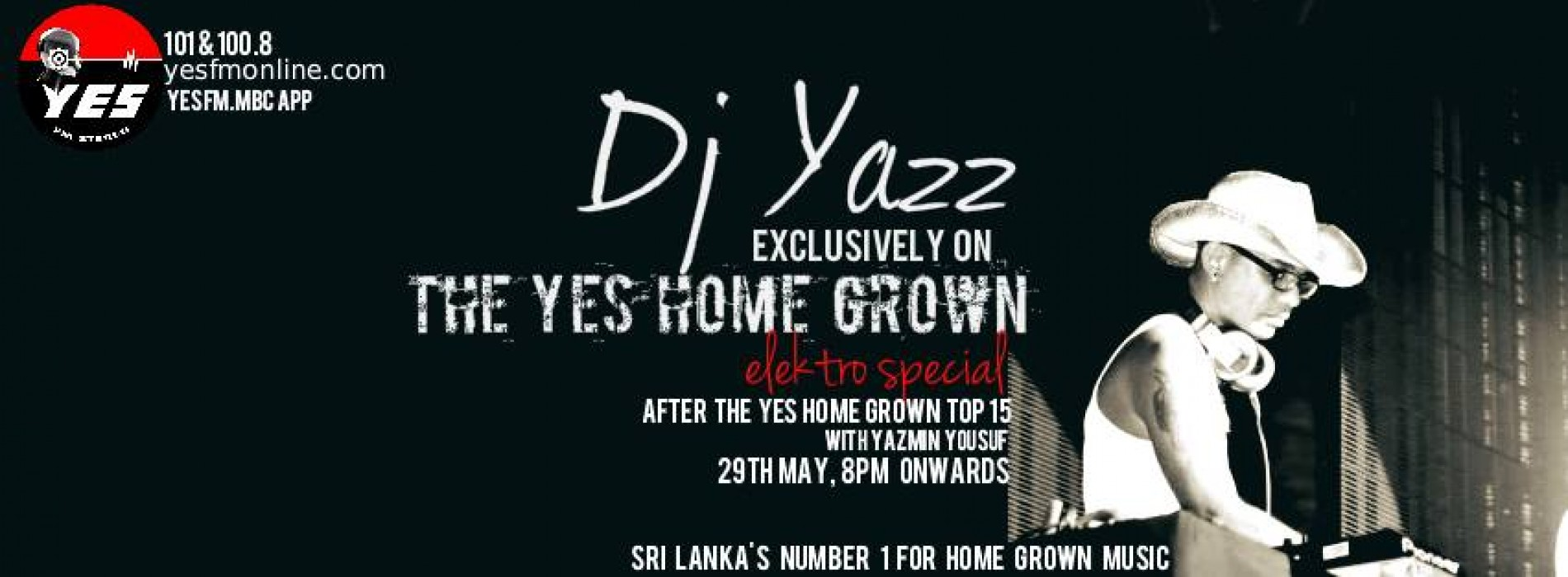 DJ Yazz On The YES Home Grown Elektro Special
