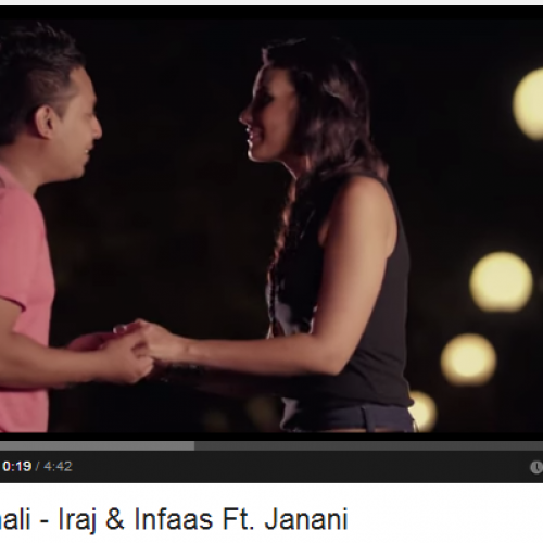 Iraj & Infaas Ft. Janani – Manamali : 2 Million Hits N Counting