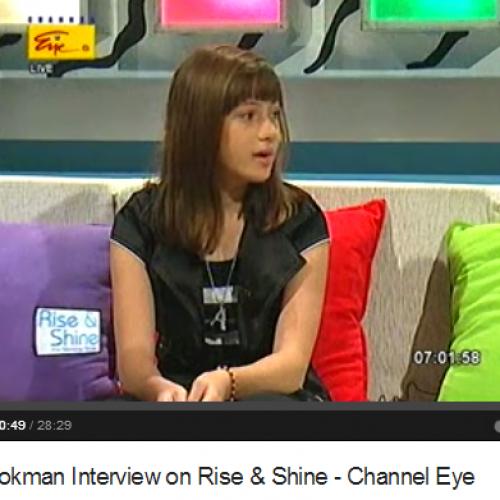 April Schokman On Rise & Shine – Channel Eye