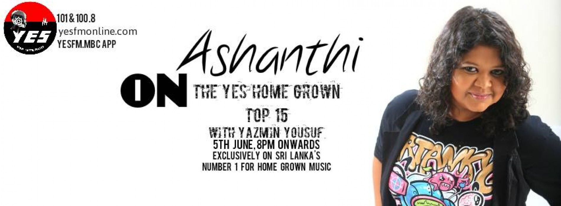 Ashanthi On The YES Home Grown Top 15