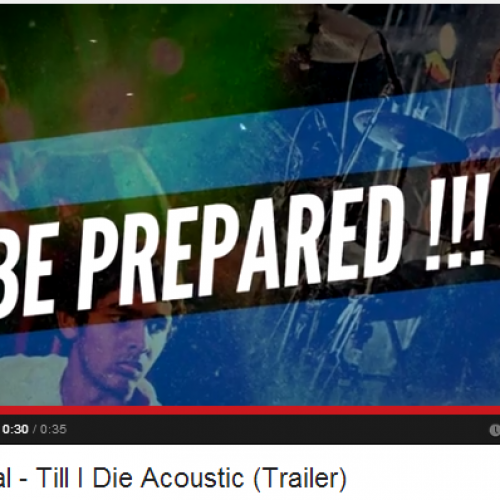 Ethereal – Till I Die Acoustic (Trailer)