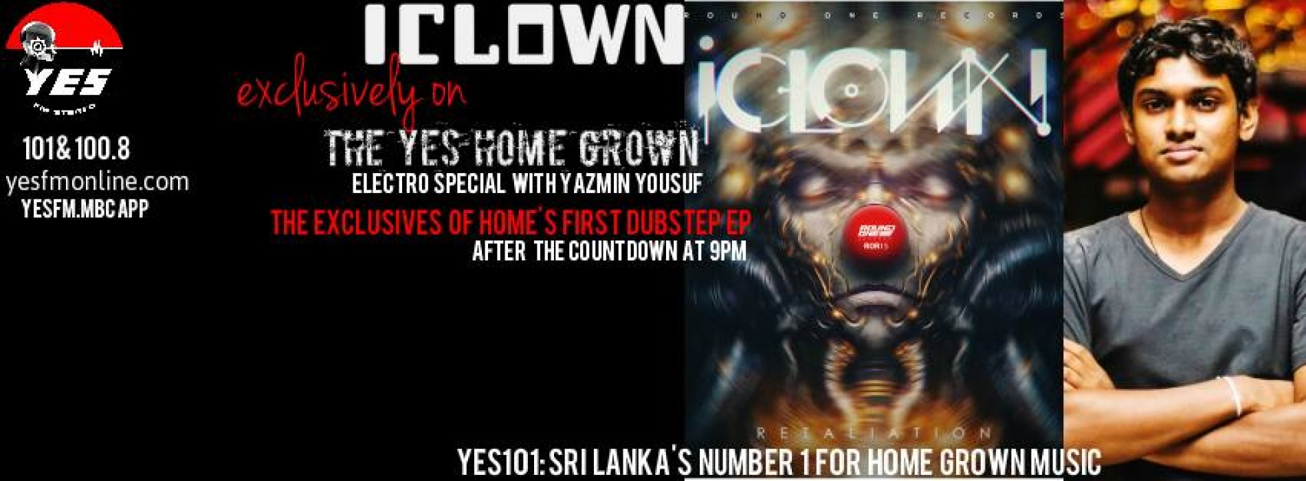 iClown On The YES Home Grown Top 15