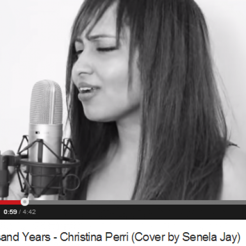 Senela Jay – A Thousand Years (Cover )