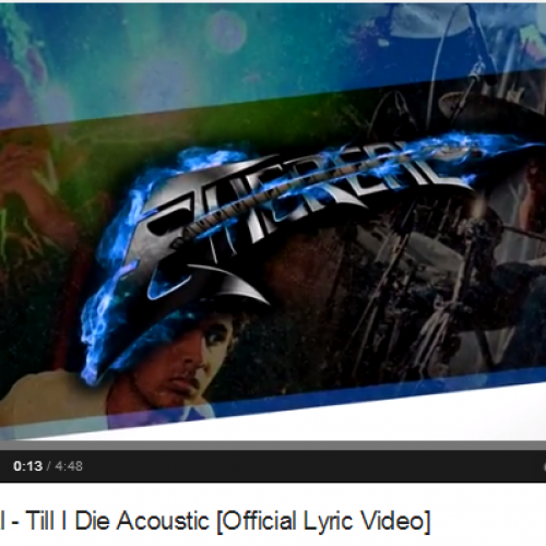 Ethereal – Till I Die Acoustic [Official Lyric Video]