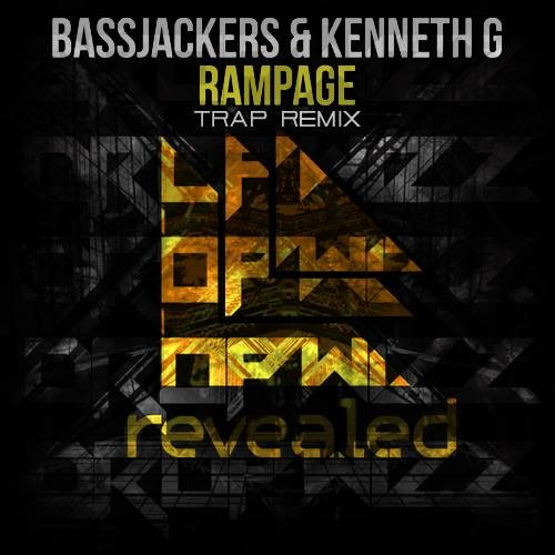 Bassjackers & Kenneth G – Rampage (Dropwizz Festival Trap Remix)