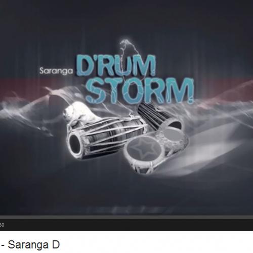 Saranga D – Drum Storm