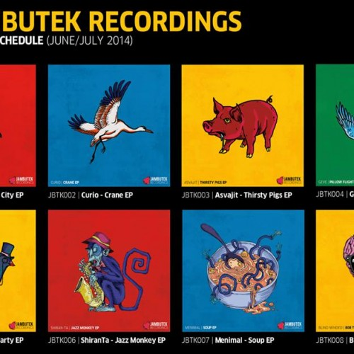 July Releases On Jambutek Records