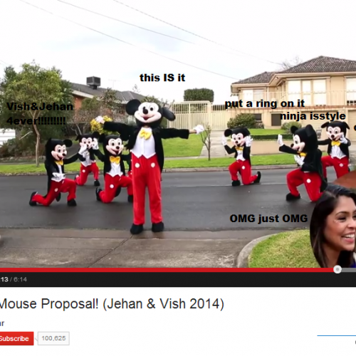 Jehan R: Mickey Mouse Proposal