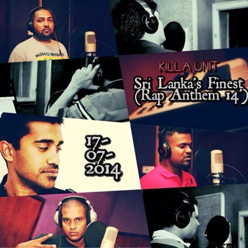 Killa Unit – Sri Lanka's Finest (Rap Anthem 14)