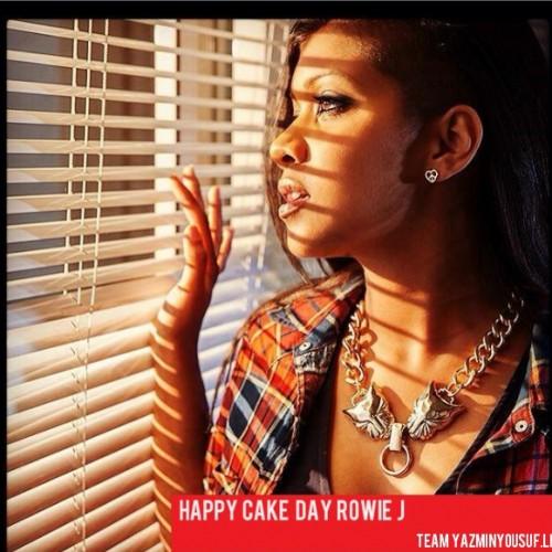 Happy Cake Day Rowie J
