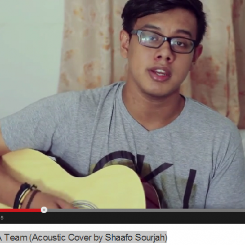 Shaafo Sourjah – A Team (Acoustic Cover)