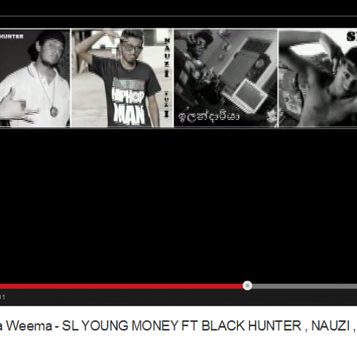 SL Young Money Ft Black Hunter , Nauzi , ඉලන්දාරියා , Spin: Mula Amathaka Weema