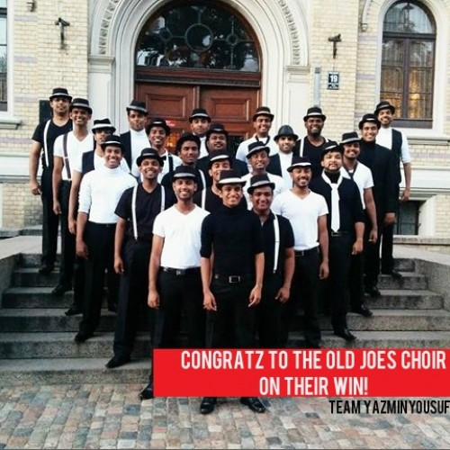 Congratz To The Old Joes Choir On Their WIN!