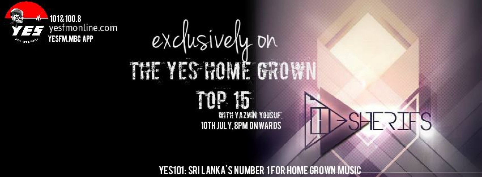The Sherifs On The YES Home Grown Top 15