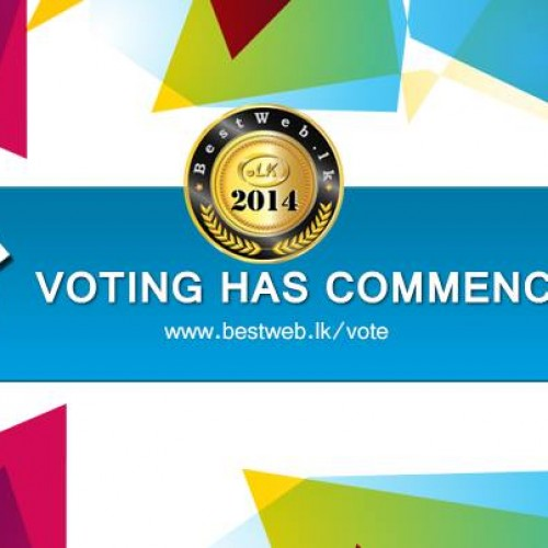 Vote For Us: Bestweb.lk Awards