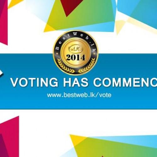 Vote For Us: Bestweb.lk Awards