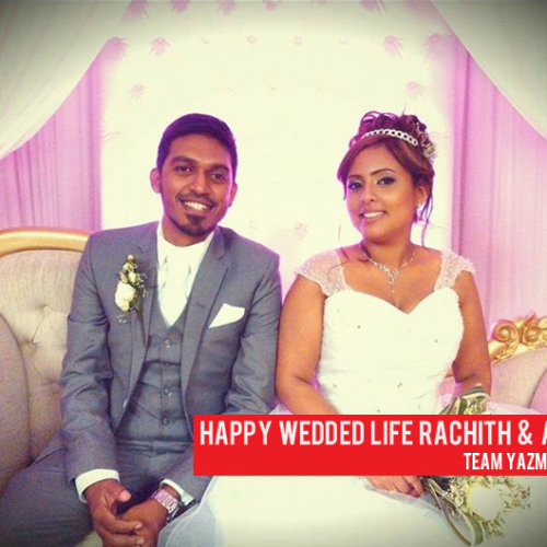 Congratz To Rachith & Amani