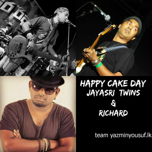 Happy Cake Day To The Jayasri Twins & Richard