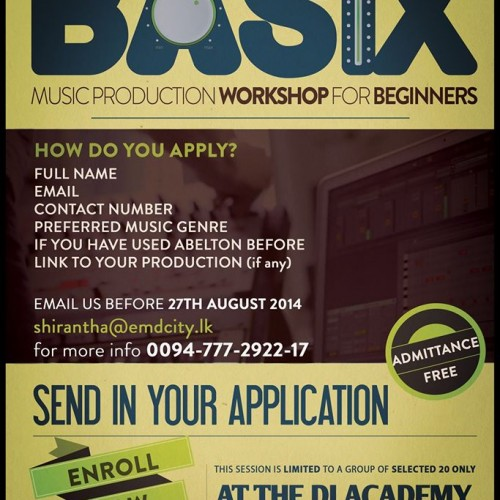 Basix Music Production Workshop For Beginners (Ableton Live)