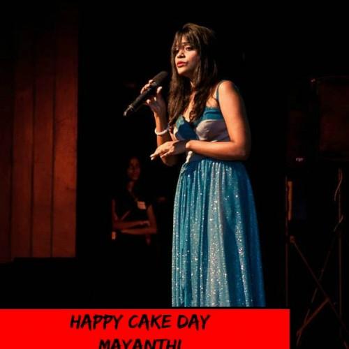 Happy Cake Day Mayanthi