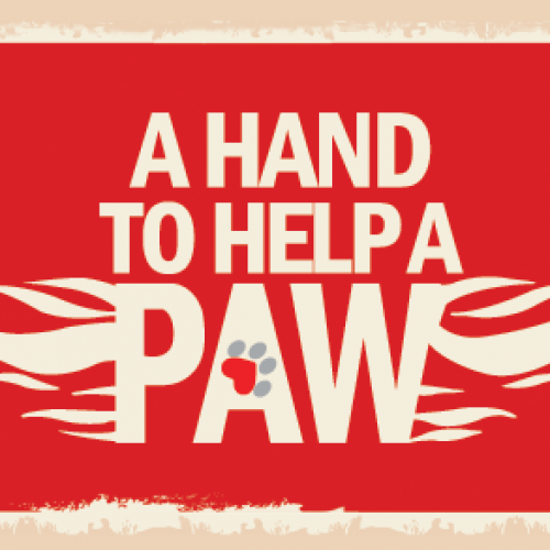 A Hand To Help A Paw (Fundraiser)