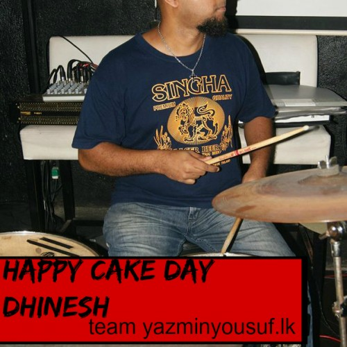 Happy Cake Day To Dhinesh Manuel