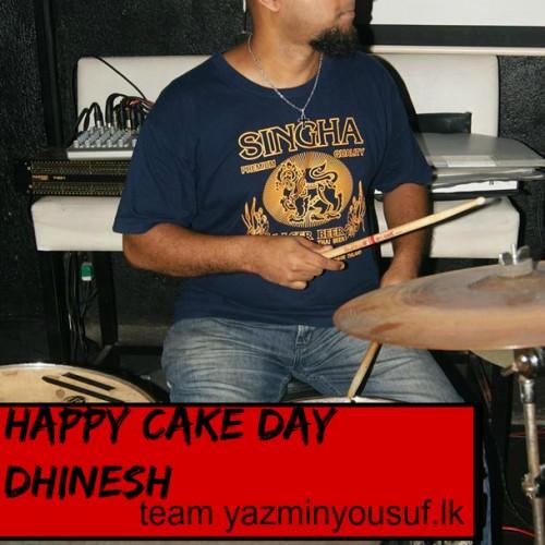 Happy Cake Day To Dhinesh Manuel