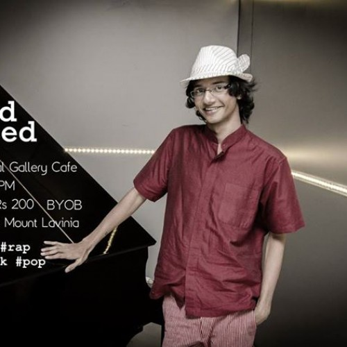 Imaad Majeed @ The Charcoal Gallery Cafe