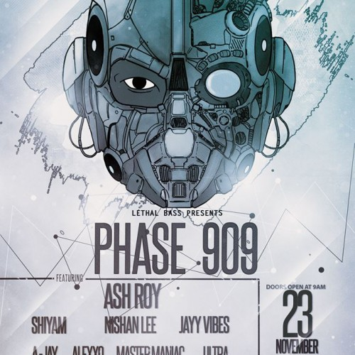 PHASE 909 Featuring Ash Roy