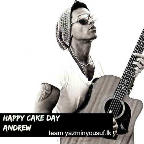 Happy Cake Day Andrew De Silva