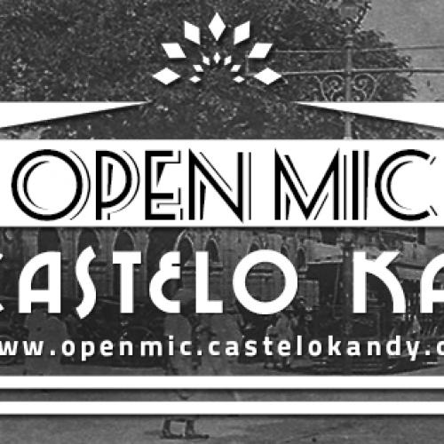 Open Mic Night @ Castelo Kandy