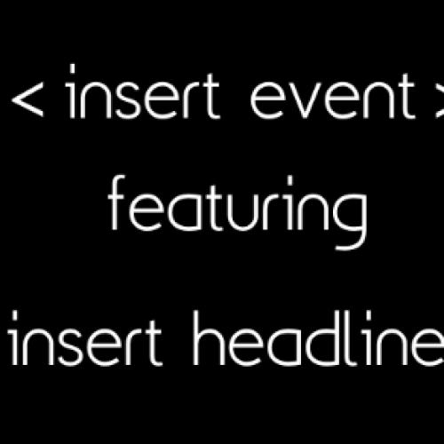 insert event