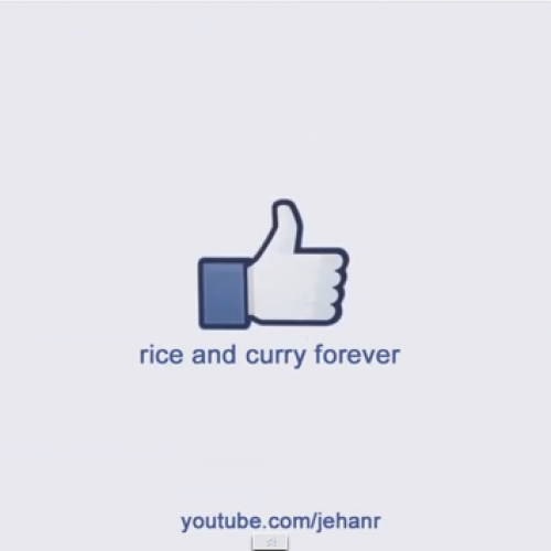 Jehan R: CURRY THANKS RICE #saythanks