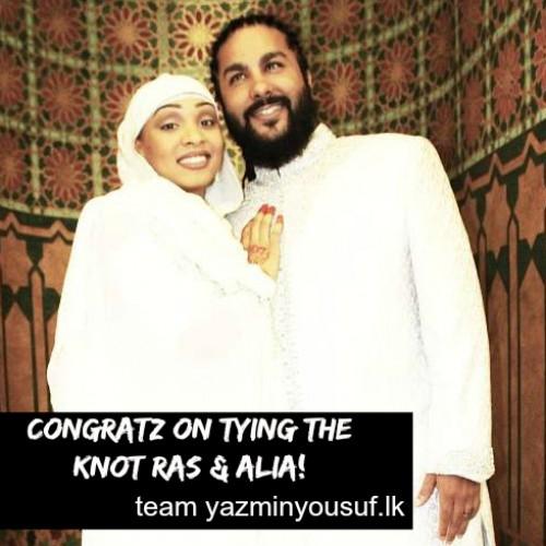 Congratz To Ras Ceylon For Tying The Knot!