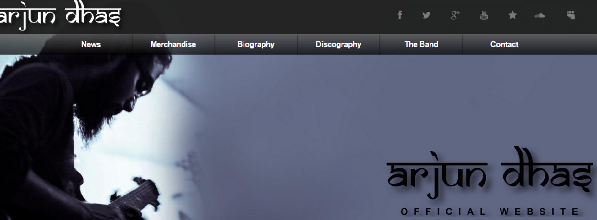 Arjun Dhas Has A Website