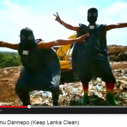 Jayasri – Kunu Dannepo (Keep Lanka Clean)