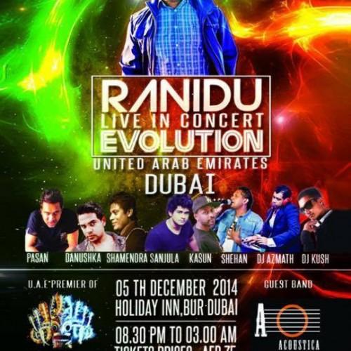 Ranidu: Evolution Live In Concert (Dubai)