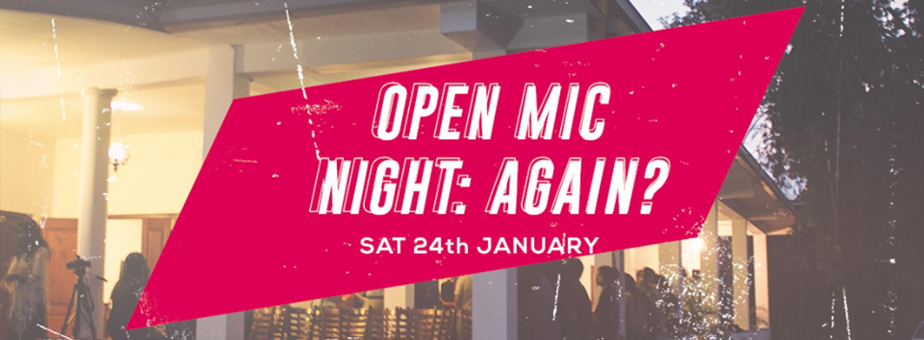 Open Mic Night (Kandy)