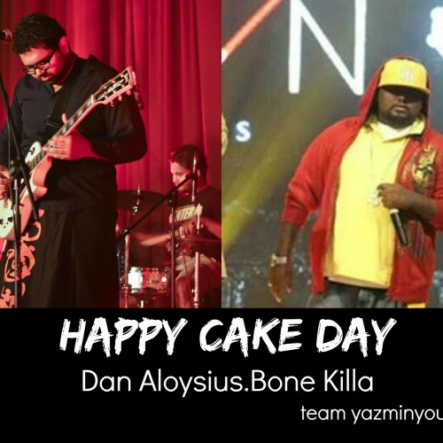 Happy Cake Day To Dan & Bone Killa