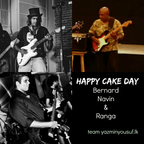 Happy Cake Day To Bernard, Navin & Ranga