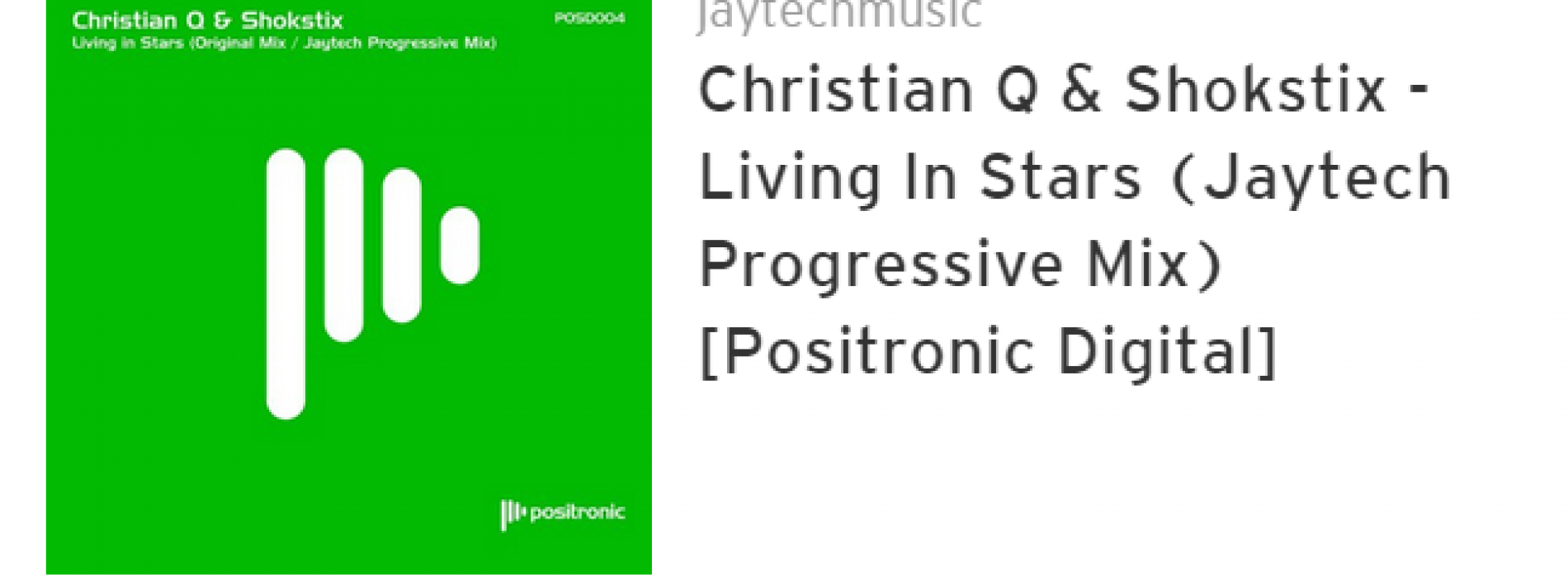 Christiaan Q & Shokstix Get Featured On Above & Beyond's Group Therapy