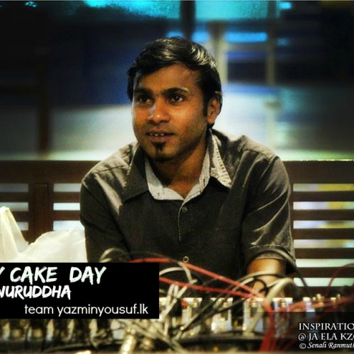 Happy Cake Day To Anuruddha