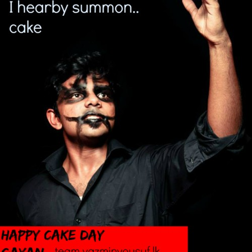 Happy Cake Day To Gayan Peiris