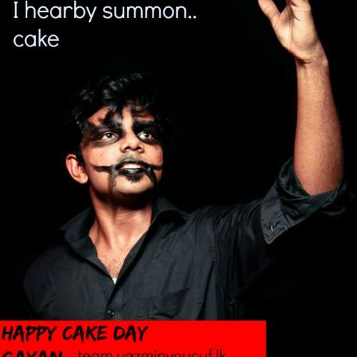 Happy Cake Day To Gayan Peiris