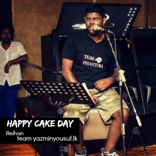 Happy Cake Day Reihan Stephen