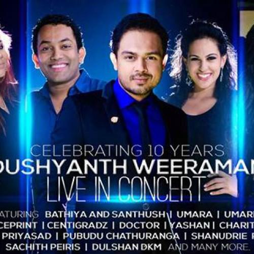 Dushyanth Weeraman – Celebrating 10 years