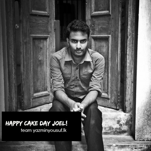 Happy Cake Day To Joel Issac
